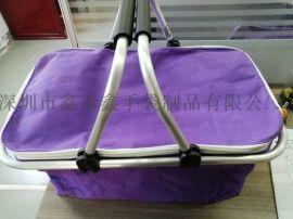 廠家生產訂制戶外休閒運動野餐籃