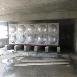 不锈钢水箱方形组合水箱_五屹消防水箱
