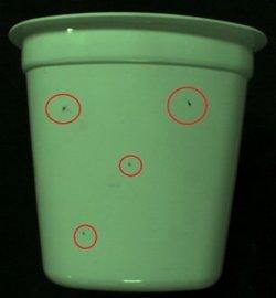 酸奶杯检测设备 表面缺陷检测 检测设备厂家 缺陷检测设备 黑点检测 杂质检测