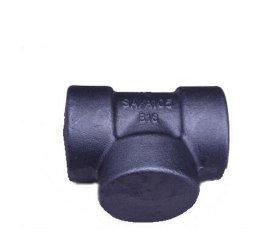 家供应 优质液压管接头耐高温承插管件 模锻快接不锈钢三通毛坯