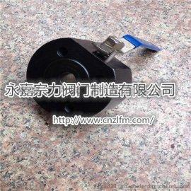 Q71F-25C碳钢对夹式球阀