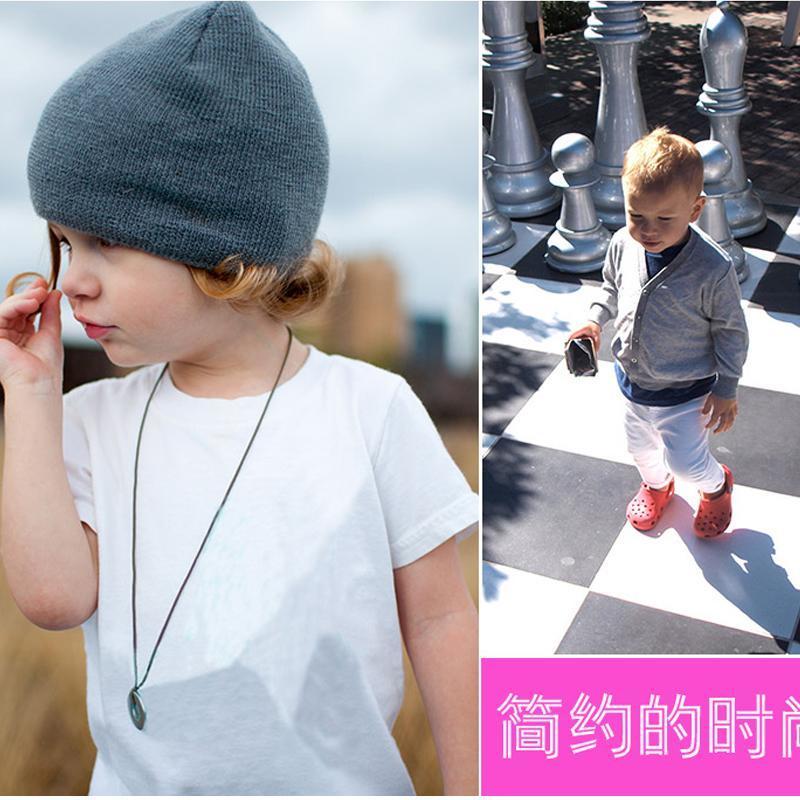 童装短袖 儿童纯棉短袖T恤纯白色t恤    圆领短袖打底衫