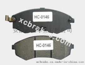 厂家提供现代跑车半金属刹车片