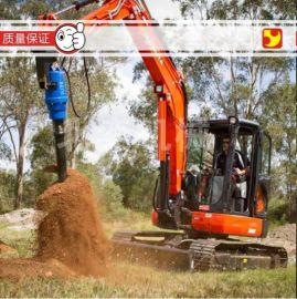 挖掘机配套钻机 液压螺旋式钻机 光伏钻机 工程钻机 螺旋钻机