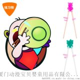 兒童筷子寶寶食具嬰兒學習筷小孩練習筷矽膠訓練筷兒童食具
