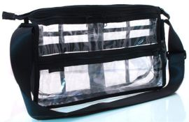 PVC黑色包边多功能妈咪袋