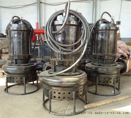 搅拌式潜水排沙泵,切割耐磨式吸沙泵
