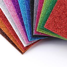 带金粉EVA片材料 EVA闪光亮光海绵纸泡沫纸 eva幼儿园手工海棉纸
