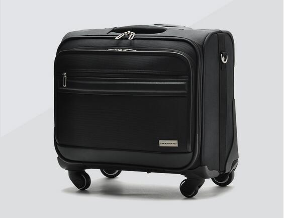 厂家订做拉杆箱 行李旅行箱18寸万向轮登机箱航空箱
