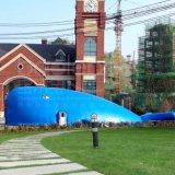 鯨魚島樂園百萬海洋球充氣城堡寶樂寶廠家直銷