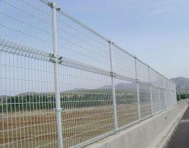 供应高架桥双圈防护栅栏. 公路隔离栅定做厂家-河北华久