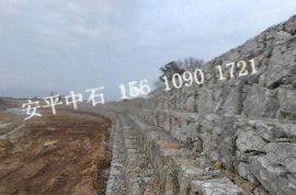 镀高尔凡宾格网箱挡墙护岸 80*100mm宾格网垫一平米价格 pvc包塑格宾石笼护坡