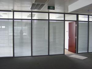 鋁鎂合金隔斷、玻璃隔斷、玻璃隔牆(585881)