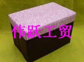 无纺布收纳凳/折叠凳(长方形)