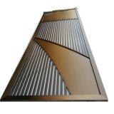 古铜不锈钢屏风隔断定制 工艺隔断玄关加工 方管隔断玄关