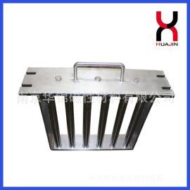 干燥机磁力架 注塑机塑料机除铁7管磁力架强磁 强磁吸
