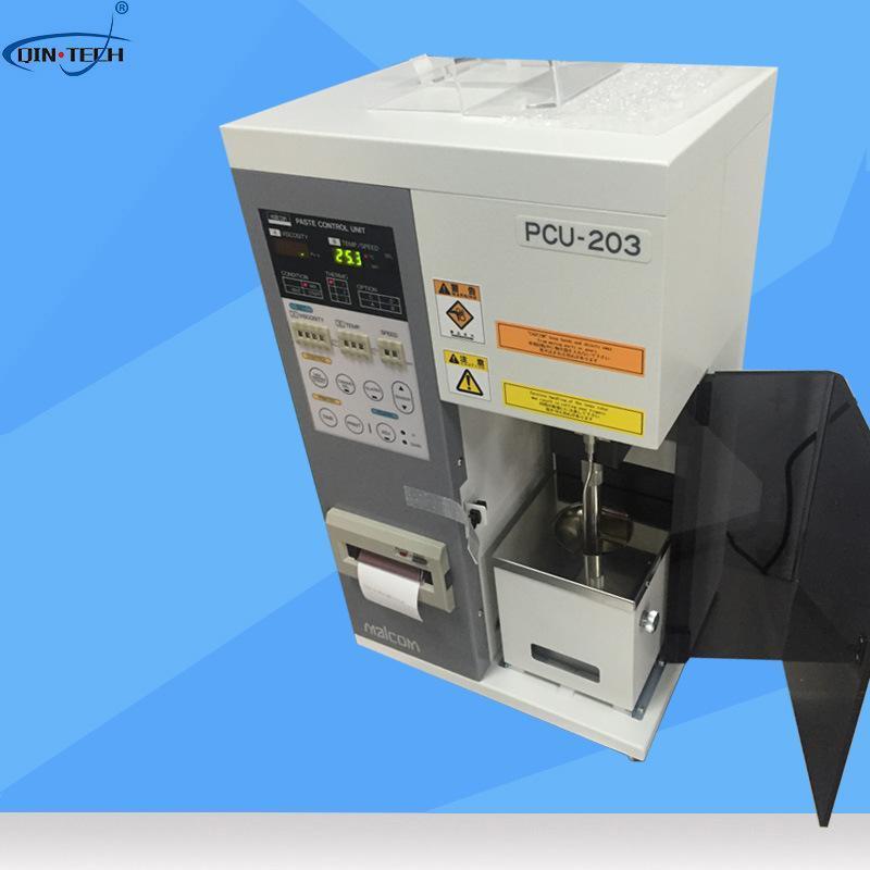 马康MALCOM锡膏粘度计 PCU-203锡膏粘度测试仪 全自动锡膏测试仪