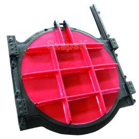 污水利钢制手动铸铁镶铜渠道启闭机平面方形圆形拱形手电一体闸门