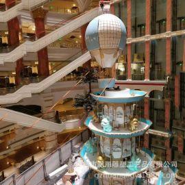 卡通玻璃钢雕塑定制商场美陈装饰雕塑 室内大型玻璃钢商场雕塑