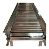 鏈板輸送機加工定製800寬板鏈輸送機整機噪聲低