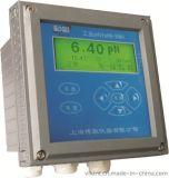 上海博取2081型工业pH计中文液晶在线连续监测多参数同屏显示带温补微机型高档仪表