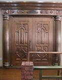 权隆安防铜门、质量第一