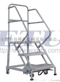 ETU易梯优,迷你型移动登高梯 货架理货梯 登高车