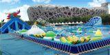 公园水上乐园项目 移动式充气水上乐园游乐设备特价