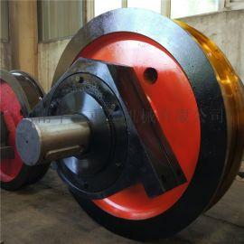 主被动车轮锻件 800广东车轮组轻轨大车轮欧式轮
