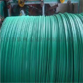 联利包塑铁丝 捆绑用包塑铁丝 包胶铁线厂家