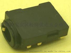 沉板防水耳机插座5P防水等级IPX7
