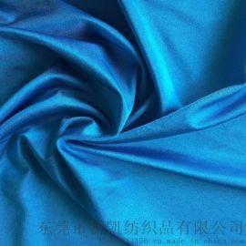 工厂批发涤纶莱卡布 高弹力泳装内衣布料 四面弹服装针织面料产品