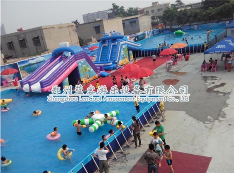 河北邯鄲移動式支架水池游泳池生產廠家