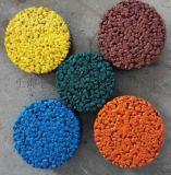 透水混凝土,彩色透水性鋪裝材料彩色透水地坪