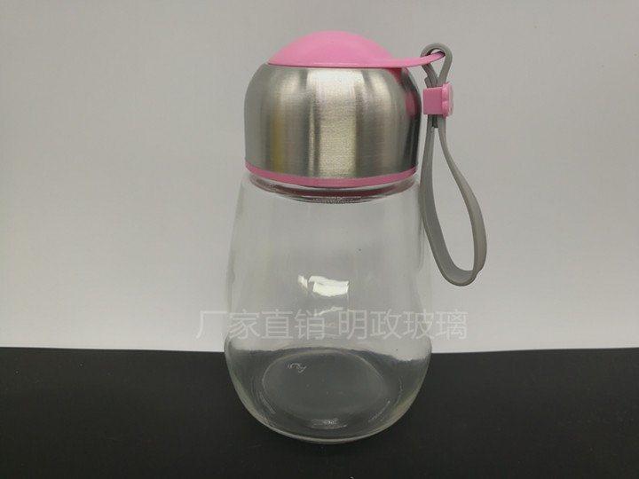 厂家销售 400ml 企鹅杯 玻璃水杯 创意情侣水瓶 企鹅杯