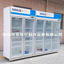 雪尼尔冷柜LC-1600F超市展示柜 便利店三门饮料柜