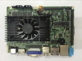 研盛芯控M618SE-I5-3317U-2G 3.5寸板贴2G 4G内存主板 车载电脑主板 触摸一体机主板 广告机主板 双网口主板
