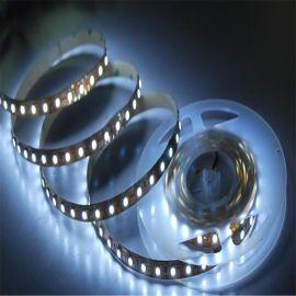 5050软灯条120珠白光LED12V不防水超亮灯带