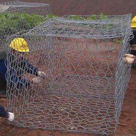 钢丝石笼网 钢丝石笼网箱 钢丝石笼网厂家