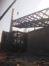 Q235钢结构连廊加工选山东三维钢构