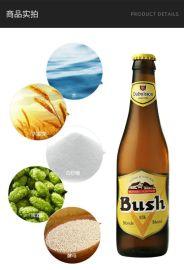比利時精釀進口啤酒 Bush布什金啤酒 330ml*6瓶 V-0090039