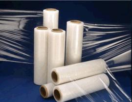 包装膜45cm 工业缠绕膜50cm拉伸膜 透明薄膜