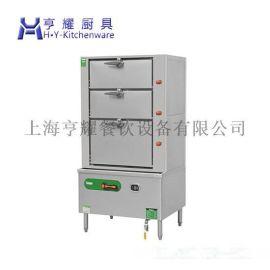 多功能双门海鲜蒸柜,上海节能海鲜蒸柜,不锈钢三门海鲜蒸柜,燃气海鲜蒸柜尺寸
