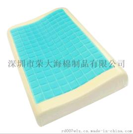 慢回弹记忆枕标准凝胶护颈枕 太空记忆棉枕头 厂家直销可贴牌