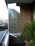 兄弟折叠无框阳台窗