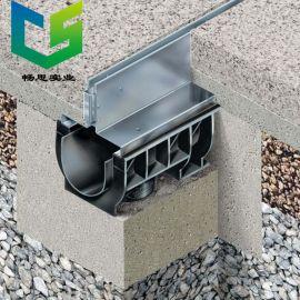 U形排水沟 塑料排水沟厂家定制 HDPE排水沟 不锈钢缝隙式盖板