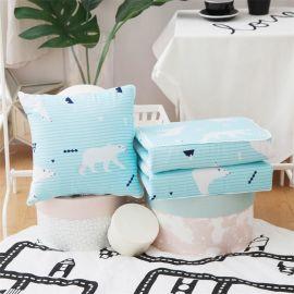 厂家直销现代简约全棉抱枕被子两用沙发靠垫卡通办公室靠枕可定制