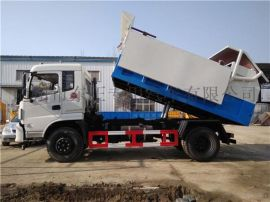 15吨含水污泥运输车、污水厂全密闭清运污泥专用车