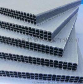 新型PP中空塑料建筑模板生产线