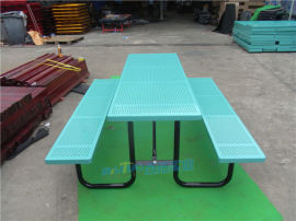欧式铁艺休闲吧桌椅奶茶饮品店餐桌椅户外连体金属桌椅